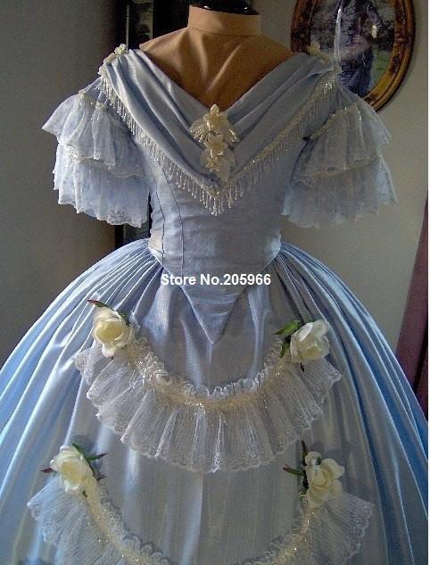 1800s Party Dresses 29