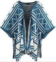 Tribal Cardigan New 2014 Aztec Ladies Vintage Women Casual Gothic Oversize Knit Bat Sleeve Sweater Totem Print Cardigan SS14C002