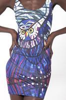 2014 Vestidos Desigual New Designed for Digital Printing Owl Vest Dress 1024 Skull Galaxy Starry Night Corpse Bride Sundress
