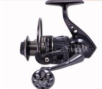 TOKUSHIMA HK3000 4000 5000 6000 7000  metal fishing reel 5.5:1 13+1 Ball bearing Parallel line winding spinning fishing reels