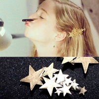 ZH0844 New arrive Star hairpins for women hair accessories  hair clip