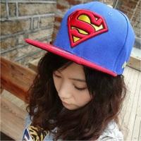 top wholesale free shipping boy girl unisex hip hop superman snapback casual caps men women gorra casquette raiders sun hats H02