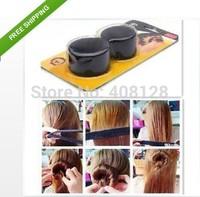 12Pcs Hairagami Hair Bun Updo Fold, Wrap & Snap Styling Tool Free Shipping