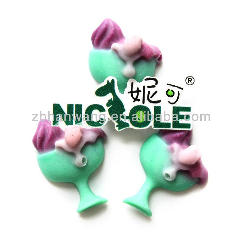 Nicole cocktail glass silicone fondant mold cake decorating tool F0661(China (Mainland))