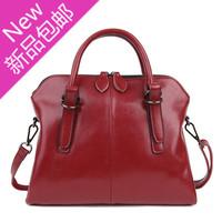 Women's handbag fashion cowhide fashion women's messenger bag casual shoulder bag vintage handbag female