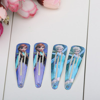 12Pairs Frozen elsa&anna princess Hairpin Clip Hair Ornament BB Clamp Clip Baby Hair Clip style mixed