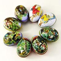 Small fashion easter eggs egg box storage box candy box jewelry box gift tin