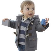 Free shipping 2014 Boys Cotton Coat Children Overcoat Kids Fashion Cute Jacket Baby Fashion Outwear