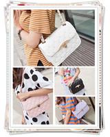 2014 fashion plaid fashion women's chain bag