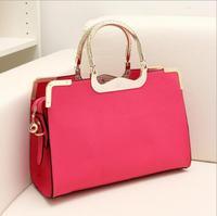 HOT 2014 1pcs/lot  EuropeStyle fashion women handbag messenger bag leather shoulder bag for Engagement, Gift, Party EJ640709