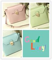 2014 fashion candy color bucket bag handbag messenger bag small bag trend women's handbag