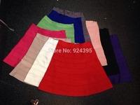 Hot Sale red white Cute Black Mini Bandage Skirt 2014 Sexy Celebrity Skirt HL Knitting Bodycon Elegant Office Lady A Line Skirt