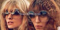 new 2014 round sun glassessunglasses women brand designer vintage fashion glasses - cloe sun glasses for women