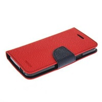 Refined Luxury Flip Leather Wallet Card Shell Pouch Stand Case Cover For HTC One M7