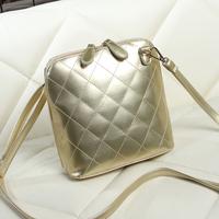 Fashion plaid 2014 shell bag women's messenger bag mini bag trend women's handbag