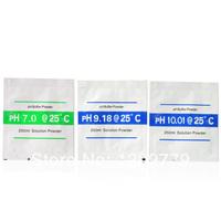 P Free shipping New 7.00, 9.18,10.01 pH Calibration Powder Buffer Solution T0343 W