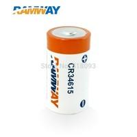LiMnO2 D size 3.0v battery,CR34615 for smart lighting(LED) back up