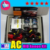 Freeshipping 10 sets per lot! 35W hid xenon kit 4300K-12000K H1 H3 H7 H11 9005 9006 H27 single beam hid ballast kit