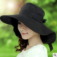 Korean version of the cool summer shade along a large hat, sunscreen sun hat free shipping cycling