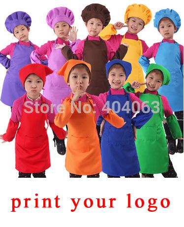 mini wholesale 30pcs!50%-60% discount shipping cost,custom children apron,kindergarten apron,print your logo(China (Mainland))