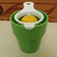 High-quality the ToolWhisk Compartment Separated Egg White Separator Dividers 5 PCS/LOT