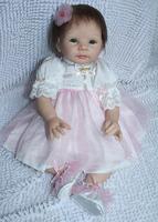 New 2014 Free shipping TOP QUALITY 55cm boy reborn baby doll same quality as adora baby doll for kids' gift bjd doll DIY doll
