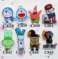 min order is $15 popular new cute Anime lovely cartoon pins cool brooch   838