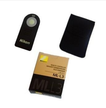 30pcs ML-L3 Camera remote controller Camera IR remote switch for D90 D7000 D5100 D5000 D3000 P6000 P7000 D60(China (Mainland))