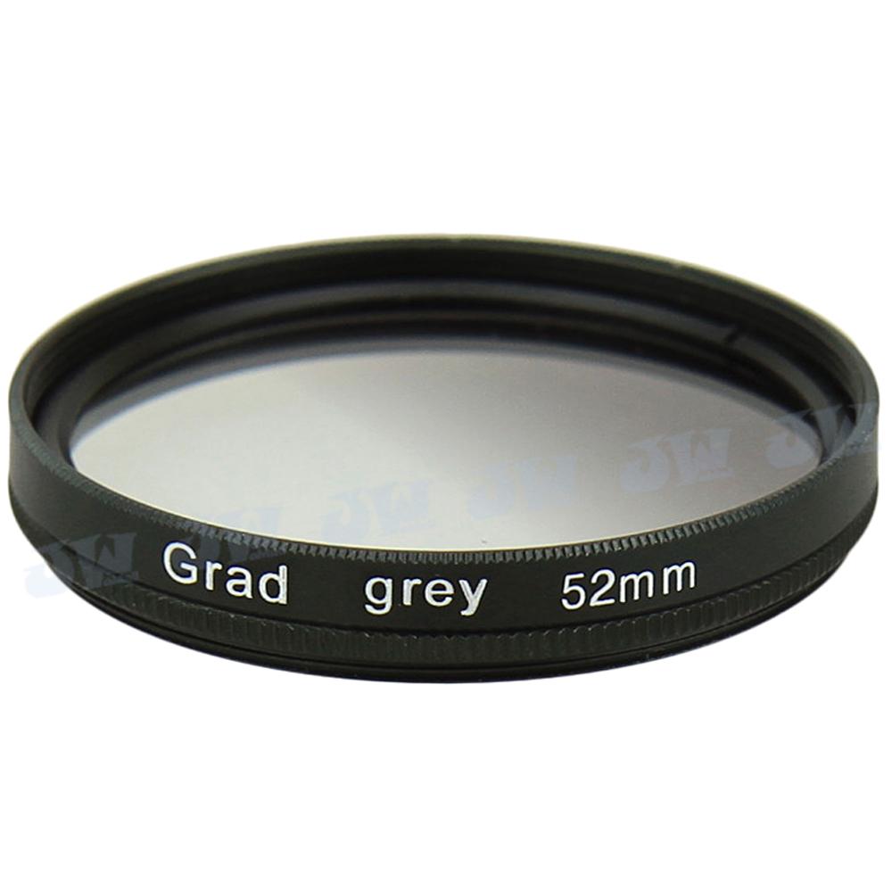High Quality Grey Graduated Color Lens Filter for 52MM Nikon D7100 D7000 D3300 D5300 D5200 D5000 D3100 D80 D90 Lens NB GCF-52G(China (Mainland))