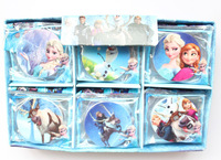 wholesale, free shipping, 1 Box/30 Pcs (45mm) Children The stationery school supplies prize rubber Frozen erasers