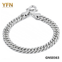 wholesale Free shipping GNS0363 Fashion Bracelet Bangle for Men Genuine 925 Sterling Silver jewelry 2.6mm/8inch Factory price