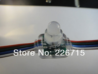 12mm WS2811 Square Pixel Module,IP66;DC5V Input;full color;50pcs per String