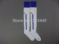 Factory Price,Embroidery Logo ITALY White Away Sock.2014 World Cup ITALY Style .Size L,Suit for 39-45 Size.