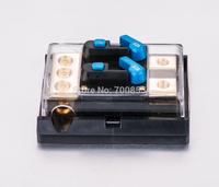 60 Amp DUAL In-Line Circuit Breaker/ Power distribution block SKCB-03-60A