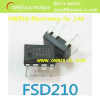 Free Shipping!50pcs/lot FSD210 Green Mode Fairchild Power Switch DIP-7 o