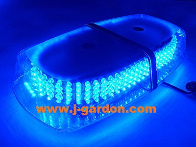 Car Truck Emergency Beacon Light Bar Hazard Strobe Warning Police Fire 240 LEDStrobe LightBar Blue(China (Mainland))