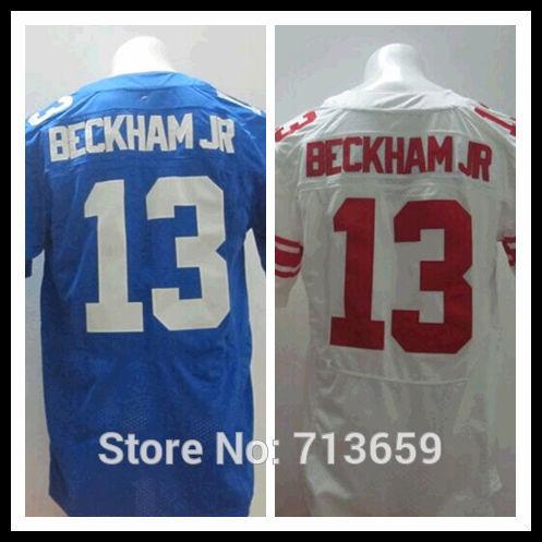 American Football Jerseys 2014 Draft New York #13 Odell Beckham Jr Sports Jersey,Embroidery Logos,Free Shipping,Accept Mix Order(China (Mainland))