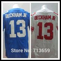 American Football Jerseys 2014 Draft New York #13 Odell Beckham Jr Sports Jersey,Embroidery Logos,Free Shipping,Accept Mix Order