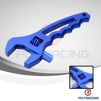 WLR STORE- Adjustable Aluminum AN WRENCH HOSE Fitting Tool spanner long handle 3an to 20 an