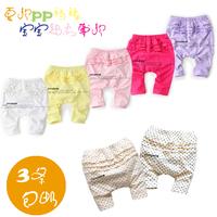 new 2014 Summer girls legging baby & kids clothes multicolour baby pants child seven capris baby girl cute leggings