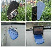 1100pcs/lot Powerful Silica Gel Magic Sticky Pad Anti-Slip Non Slip Mat for Car dvr GPS