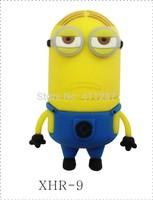 2014 HOT selling free shipping Despicable Me shape cartoon USB flash drive Minions USB memory USB stick