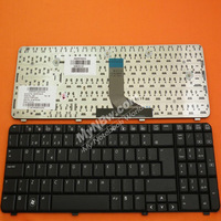 Freeshipping for laptop keyboard Portuguese  layout for HP CQ61 G61 BLACK