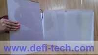 A4 SIZE SAMPLE OF DEFI  WHITE Self-adhesive Smart Switchable Glass Film
