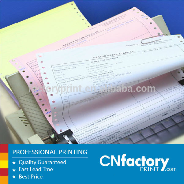 Carbonless Paper Invoices Carbonless Printed Paper