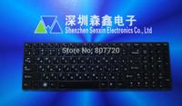 100% new original RU,Russian backlit keyboard for Lenovo Ideapad Y580 Y580N Y580NT series, free shipping