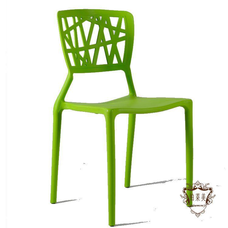Designer Plastic Chairs Nest Nordic Creative Casual Cafe