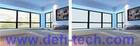 0.6m * 0.6m  WHITE Self-adhesive Switchable  Smart Film