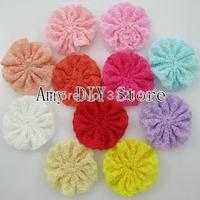 Free Shipping!110pcs/lot 2 Inch Quatrofoil Pattern Ballerina Flowers, Flowers For Baby Girls Headband ,Kids Hair Accessories