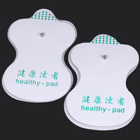 Free Shipping! NEW 20pcs/(10 Pairs/lot) White Electrode Pads For Tens Acupuncture Digital Therapy Machine Massager High Quality